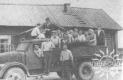 Першая агітбрыгада Клічаўскага Дома культуры. 1953 г..